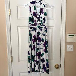 Gently used floral Evan Piccone dress